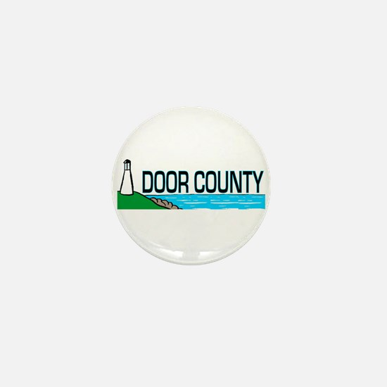 Door County Mini Button