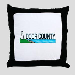 Door County Throw Pillow