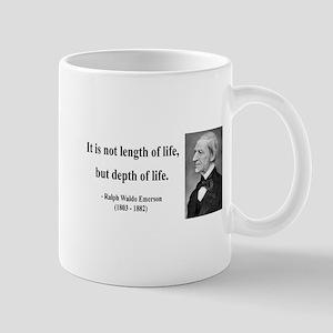 Ralph Waldo Emerson Quote 6 Mug