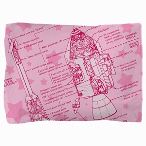 space-capsule-pink_13-5x18 Pillow Sham
