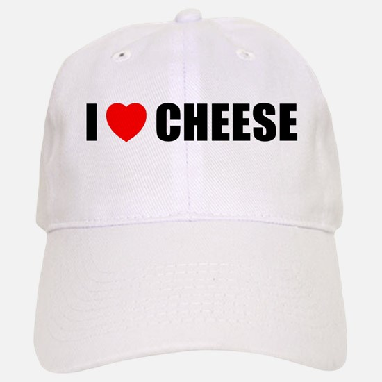 I Love Cheese Baseball Baseball Cap