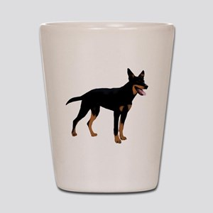 Australian Kelpie Dog Shot Glass