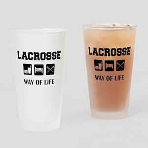 lacross34 Drinking Glass