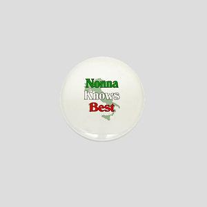 Nonna Knows Best Mini Button