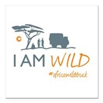 AfricaWildTruck Square Car Magnet 3