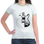 Ebony&Ivory Jr. Ringer T-Shirt