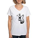 Ebony&Ivory Women's V-Neck T-Shirt