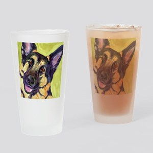 German Shepard Dog - Romo Drinking Glass