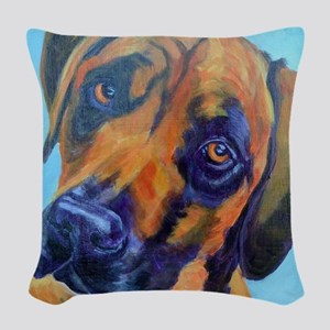 Rhodesian Ridgeback-Deion Woven Throw Pillow