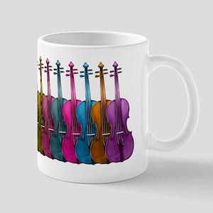 Colorful Violins Mug