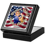 Women against Hillary Keepsake Box