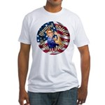 Women against Hillary Fitted T-Shirt