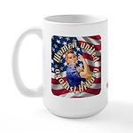 Women against Hillary Large Mug