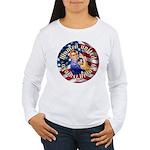 Women against Hillary Wmns Long Sleeve T-Shirt