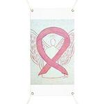 Pink Ribbon Angel Banner