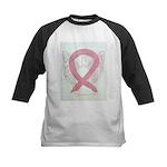 Pink Ribbon Angel Baseball Jersey