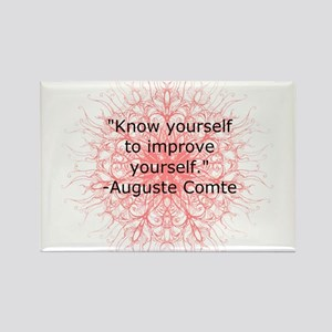 Auguste Comte Quote Magnets