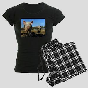 pigs2 Women's Dark Pajamas