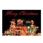 Merry Christmas Santa's Toy Company Postcards (Pac