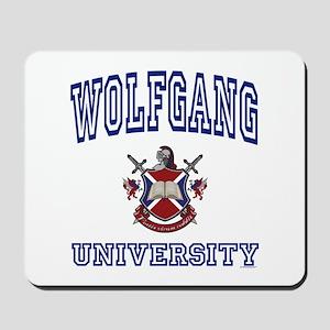 WOLFGANG University Mousepad