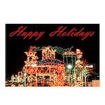 Happy Holidays - Santa's Toy Company Postcards (Pa