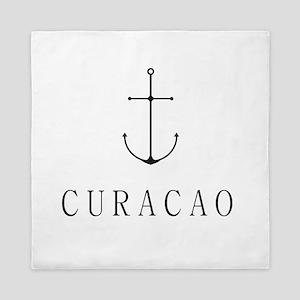 Curacao Sailing Anchor Queen Duvet