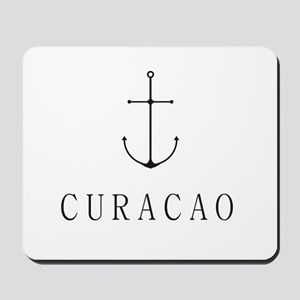Curacao Sailing Anchor Mousepad