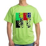Pop Art Green T-Shirt