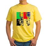 Pop Art Yellow T-Shirt