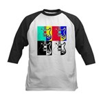 Pop Art Kids Baseball Jersey