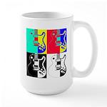 Pop Art Large Mug