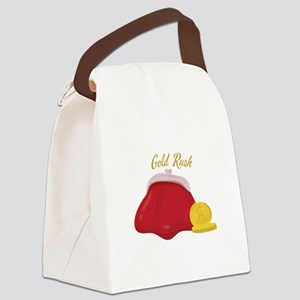 Gold Rush Canvas Lunch Bag
