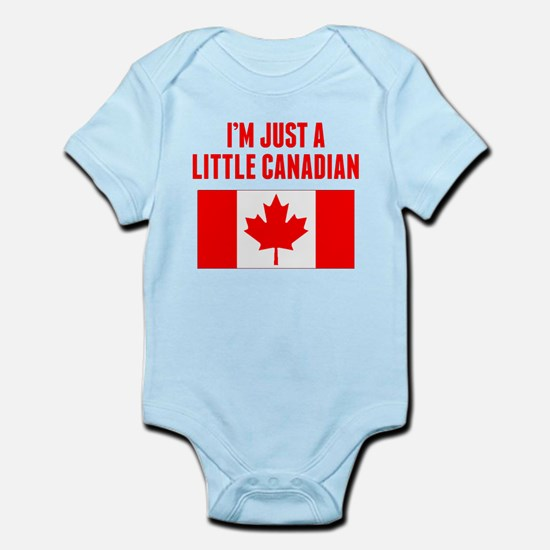 Im Just A Little Canadian Body Suit