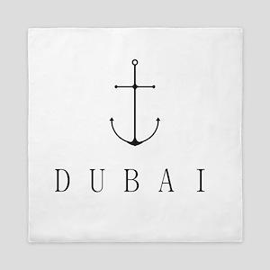 Dubai Sailing Anchor Queen Duvet
