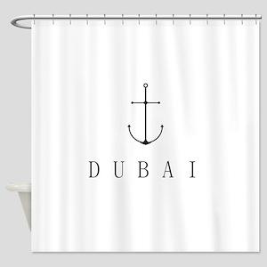 Dubai Sailing Anchor Shower Curtain