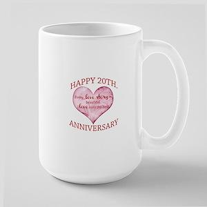 20th. Anniversary Mugs