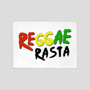 Reggae Rasta 5'x7'Area Rug