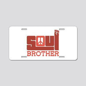 Soul Brother Aluminum License Plate
