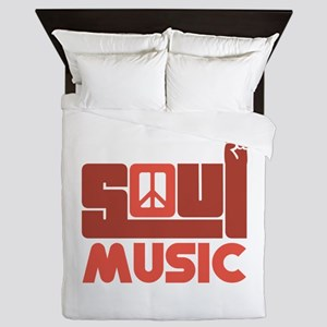 Soul Music Queen Duvet