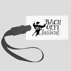 Bach Off! Luggage Tag