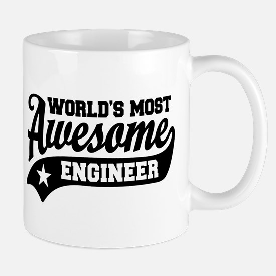 World's Most Awesome Engineer Mug