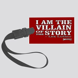 SMALLVILLE VILLAIN-STORY Large Luggage Tag