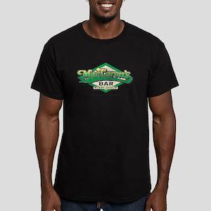 HIMYM MacLaren's Men's Fitted T-Shirt (dark)