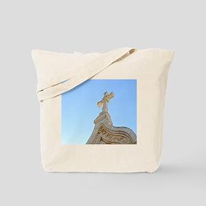 Milk Grotto Cross Tote Bag