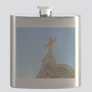 Milk Grotto Cross Flask