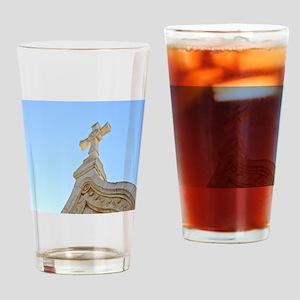 Milk Grotto Cross Drinking Glass
