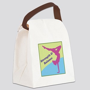 Strength & Balance Canvas Lunch Bag