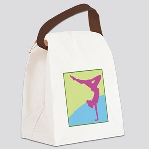 Gymnast Square Canvas Lunch Bag