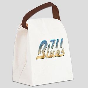 711 Blues Canvas Lunch Bag