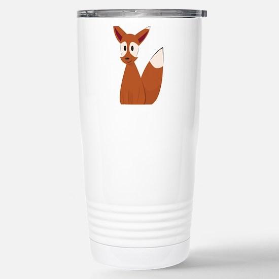 Fox Animal Travel Mug